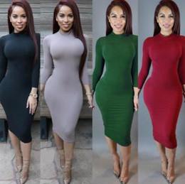 warme kleidung sexy Rabatt 2020 Maxi-Kleider für Damen Verband Bodycon Winter-Designer Soft-Stretch-Schwarz-Partei-Kleid-dünner reizvollen Verein-Abnutzung Herrliche Warm Kleidung