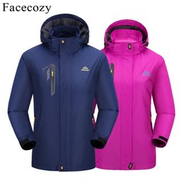 d9edeb7fa1be Facecozy 2019 New Spring Summer Men Women s Softshell Hiking Jackets Male  Outdoor Trekking Camping Clothing for Climbing Fishing