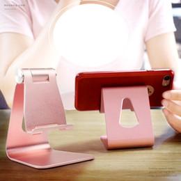 Le téléphone de bureau universel d'alliage d'aluminium de support de téléphone portable plat d'OEM ajustent le support d'axe de support d'iPad fabricant ? partir de fabricateur