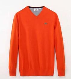 Steint-shirts online-2019 Winter Tempo Erwärmung o-uk brandneue Mode Herren T-Shirts einzigen Garn entsteint Schleife runder Kragen Pullover 7 Farbe Größe M-2X