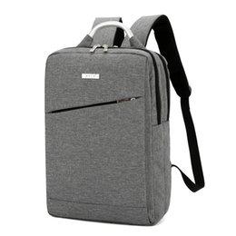 Корейская школьная тетрадь онлайн-Унисекс рюкзак школьный мешок большой емкости бизнес повседневная ноутбук дорожная сумка 2019 корейский холст плеча ноутбук школьный колледж