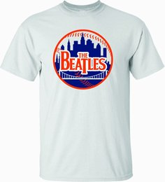 red graphic tees Coupons - THE BEATLES METS LOGO T-SHIRT NEW YORK SHEA STADIUM- SHARP GRAPHICS! Gift Print T-shirt,Hip Hop Tee Shirt,NEW ARRIVAL tees