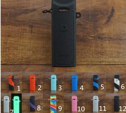 Vape Kalem SMOK Nord Silikon Kılıf Silikon Kauçuk Kapak Çanta Koruyucu Kollu SMOK Nord Kiti Dahili 1100 mAh Pil için 3 ml Pod 12 Renkler nereden kapak kalemi tedarikçiler
