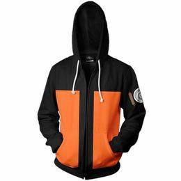 2019 akatsuki sweatshirt 2019 mode Unsiex Sweatshirt Hoodies Männer Frauen Gedruckt Anime Naruto Akatsuki Hoodie Cosplay Streetwear Trainingsanzug Reißverschluss rabatt akatsuki sweatshirt