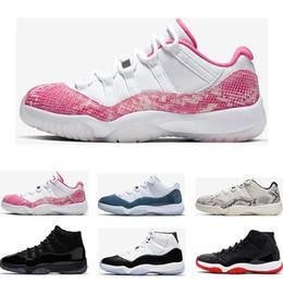 acender sapatos tamanho 13 Desconto Top tênis de basquete 11 s Snakeskin LIGHT BONE ORANGE TRANCE Criados Concord 45 23 mulheres GAMMA AZUL mens formadores tênis esportivos tamanho 5.5-13