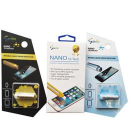 Canada Film protecteur d'écran universel NANO Liquid pour iPhone XS Max X technologie invisible en verre trempé pour Samsung Galaxy S8 S9 S10 + cheap invisible protector Offre