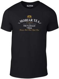 T-shirt uomo Moriar Tea - Moriarty Sherlock Holmes Cumberbatch Baker Street Cool Casual Pride T Shirt Uomo Unisex Fashion Tshirt supplier sherlock t shirt da maglietta sherlock fornitori
