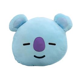 Lovely Cartoon BTS Soft Farcito Cuscino ... Molto bello design, morbido e molto confortevole. Uso di materiale ecologico, sicuro, senza amicizie. da cuscini sicuri fornitori