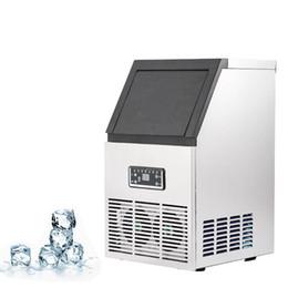 Fabricante de hielo automático de la venta caliente de BEIJAMEI / cubo de hielo eléctrico que hace la máquina para hacer la tienda del té de la leche del cubo de hielo desde fabricantes