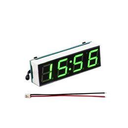 Argentina Módulo electrónico 3in1 Coche Auto Digital LED Tiempo Termómetro Voltímetro Reloj supplier digital voltmeter modules Suministro