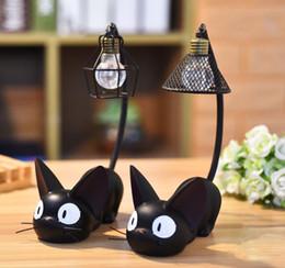 2019 carruseles de juguete Cartoon Cat Night Light Homeware Animal Lámpara de Escritorio Con Pantalla Acentos Creativos para el Hogar Decoración Figuras Regalos 08