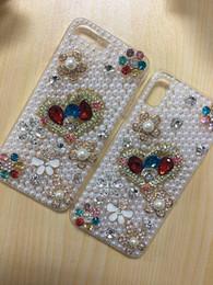 Diamante caso telefone diy on-line-Telefone de luxo case bling diamante diy hand-made telefone case capa para iphone 6 s plus 7 8 plus x xs samsung s8