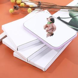 Quadrato tascabile online-6Colors trucco specchio portatile tasca piegante Specchi Moda Tabella Dresser luce di riempimento specchio cosmetico Piazza Principessa Specchi GGA3131-1