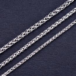 edelstahl-medaillon-anhänger Rabatt Edelstahl Kiel Halskette für Frauen Männer Medaillon Anhänger