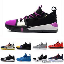 scarpe da basket arancione kobe Sconti 2019 New Kobe AD EP Mamba Day Sail Wolf Grigio Arancione Multicolor Scarpe da basket per uomo da ginnastica da uomo Sport Sneakers Taglia 40-46