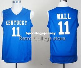 1a5c22dd8183  11 John Wall  4 Rajon Rondo  23 Anthony Davis KENTUCKY WILDCATS College  Basketball Jerseys Customized Any Name And Number XS-6XL vest Jerse