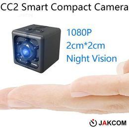 JAKCOM CC2 Compact Camera Hot Sale em mini câmeras como câmera ação sapatos foto 4k Aparat de Fornecedores de câmera de segurança escondida em casa hd