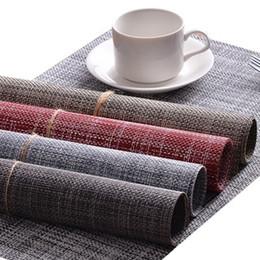 Deutschland Mode Tabelle Heat Resistant Matte Schale Kaffee Coaster Kissen Tischset Pad Essgeschirr Geschirr Abendessen Set Service Mat Versorgung