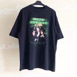 19SS BLCG Speedhunters Mulitcolor camiseta impresa Moda Hombres Mujeres Hip-Hop Manga corta de calidad superior Verano TAMAÑO DE EE. UU. desde fabricantes