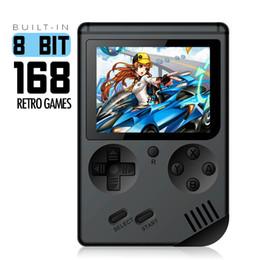 Rétro mini portables joueurs de console de jeu portables 3.0 pouces noir 8 bits classique console de jeux vidéo portables cadeau de noël pour enfants ? partir de fabricateur