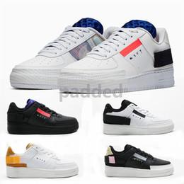 2019 n zapatillas deportivas New Forces Type N.354 Utility 1s Low Women Black White Air Run Sport Trainers Off Mens Designer Shoes 36-45 rebajas n zapatillas deportivas