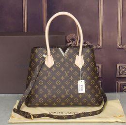 famous brand Designer fashion women luxury bags MICKY KEN lady PU leather  handbags brand bags purse shoulder tote Bag female A007 discount metallic  purses 593b72c5221d5