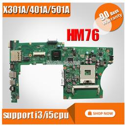 i3 laptop cpu Desconto Para ASUS X401A X301A X501A 14