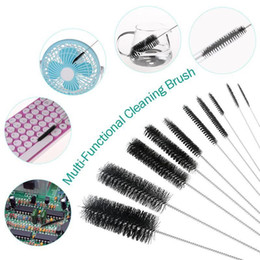 strumenti di vetro Sconti Spazzole per tubi in nylon 10 pezzi Set per cannucce per cannucce Occhiali da tastiera Spazzole per pulizia gioielli Strumenti puliti