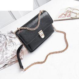good quality Solid Color Litchi Pattern Handbag Fashion Mini Crossbody Bag  High Guality Pu Leather Lady Messenger Bag affordable litchi bag fe4e6a129dfbd
