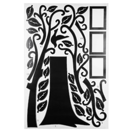 backdrop pvc Promo Codes - Large Family Tree Wall Decal for Living Room Bedroom Sofa Backdrop TV Background Removable Wall Decor Sticker 180 x 250cm