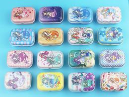 Jóia bonito da caixa da lata on-line-32 pcs sereia padrão colecionável caixa de lata doce bonito mar-maid caixas de doces caso de armazenamento de jóias favores do chuveiro de bebê