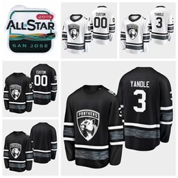 ... 3 Keith Yandle Customize Men Women Youth Florida Panthers Hockey Jerseys  Black White Jersey Stitched Shirts Best Quality florida hockey jerseys  outlet ab72de024