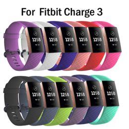Цена смарт-часов онлайн-Лучшая цена для Fitbit charge3 Браслет на запястье Смарт-ремешок для часов Ремешок Мягкий ремешок для часов Замена Ремешок для смарт-часов Для Fitbit Charge 3