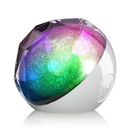 2019 altavoz caliente Hot Colorfull Sky Remote LED Noche LED lámpara altavoz Starry Master bluetooth USB Powered Diamond caja de música Altavoz CON decoracion TF tarjeta li altavoz caliente baratos
