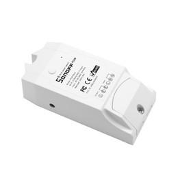 Sonoff Pow R2 WiFi Interruptor inalámbrico Encendido / apagado 16A Casa inteligente con consumo de energía en tiempo real Dispositivo de medición Control remoto desde fabricantes