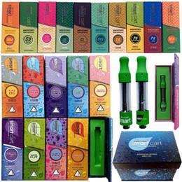 E caixa inteligente on-line-Limpar Edição SmartBud inteligente Carrinho Vape Cartridge Embalagem Box Magnetic vazio 0,8ml 510 Ceramic cartuchos de cigarro E Dab Oil Wax vaporizador