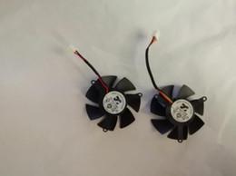 fans superred Promotion 430 610 620 6670 ARX FS1250-A1053A Diamètre: 46 mm Espacement entre les trous: 39 mm Equilateral 12V 0.19A Ventilateur de carte d'affichage sur 2 lignes