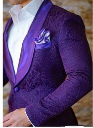Canada 2019 Mode slim fit New Army lin Hommes Costumes De Mariage Parti Bal d'étudiants Fumer Groom Tuxedo Mens Casual Work Wear Suits Tux (Veste + Pantalon) Offre