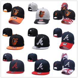 Atlanta brave chapeaux en Ligne-Baltimore BAL Casquettes De Baseball Atlanta ATL Braves Casquette De Baseball New Chapeau Era Baseball Snapback Casquette