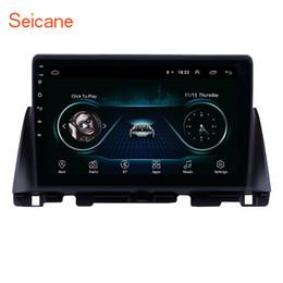 Roda de ligação on-line-Seicane 10.1 polegada android 8.1 rádio do carro de navegação gps para kia k5 2016 suporte de backup da câmera controle de volante espelho link