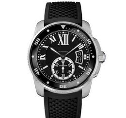 Relógio de pulso on-line-Novo Mens Watch BALLON CAR W69012Z4 Série Calendário Branco Dial Automático Mecânico Buckle Sapphire Relógio de Pulso