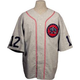 Strade del logo online-Houston Buffaloes 1932 Road Jersey 100% cuciture ricamate Loghi Maglie da baseball vintage Personalizzato Qualsiasi nome Qualsiasi numero Spedizione gratuita