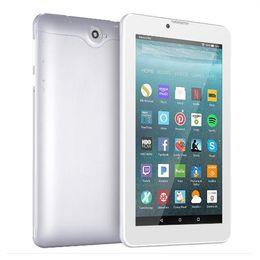 2019 tabletas baratas al por mayor 7 pulgadas 8G PC Tablet Android Quad Core WIFI Tableta inteligente GSM WCDMA con doble ranura para tarjeta SIM Cámara portátil personal con caja al por menor