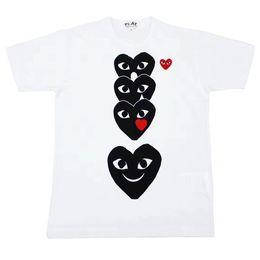 t-shirts drôles Promotion Nouvelle arrivée 2019 été femmes mens designer tshirts de luxe tshirt à manches courtes tees coeur imprimer drôle top tees