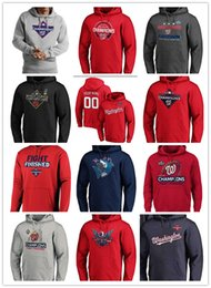 2020 nationale hoodies  Neues Ankunftmens benutzerdefiniertes Washington Fanaticss Red 2019 Champion Big Hoch Locker Room PulloverHoodie Nationale Sweatshirts Blau Schwarz Grau rabatt nationale hoodies