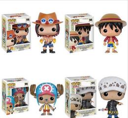 figuras de acción de boxeo Rebajas Nuevos 4 estilos Funko POP Anime: One Piece trafalgar law Vinilo Figura de acción con caja # 100 Popular Toy Gify