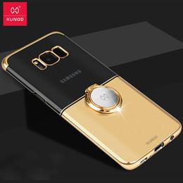 Doigt samsung cas en Ligne-Pour Samsung Galaxy S9 S9 Plus cas, Xundd Luxury Finger Ring Boucle Porte-cas pour Galaxy S8 S8Plus Note9 Note8 couverture coque