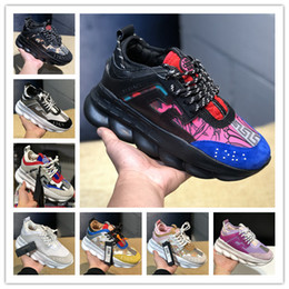 shoe box creepers Coupons - 2018 mens casual shoes fashion versa male height increasing chains sneakers women thick platform shoes creepers female casual flats tennis