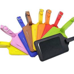 9 stilleri PU Deri Bavul Bagaj Etiketi Etiket Çanta Kolye Çanta Taşınabilir Seyahat Aksesuarları Adı KIMLIK Adres Etiketleri kart FFA2326 kontrol nereden metal kar taneleri tedarikçiler