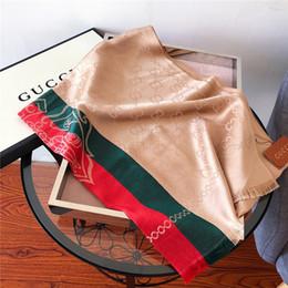2019 männer grüner seidenschal Brandneue Schal Mode hochwertige Seide Baumwolle Schals verkaufen sich gut rot und grün gestreiften Jacquard-Schals für Männer und Frauen 180 * 70cm keine Box günstig männer grüner seidenschal